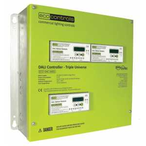 Mode Eco Lighting Controls ECO-DAC-6403 DALI Controller - Triple (Three DALI Universes)