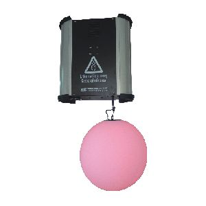 RGB LED DMX Kinetic Ball Pendant 50cm Motorised Winch 0-1.5m & 0-4m and Colour Ball 0.2m per sec DMX512 8CH