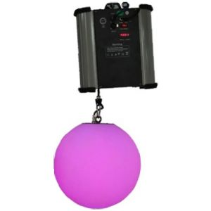 RGB LED DMX Kinetic Ball Pendant 25cm or 35cm Motorised Winch and Colour Ball 0.2m per sec DMX512  8CH