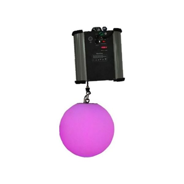 RGB LED DMX Kinetic Ball Pendant 25cm or 35cm Motorised Winch and Colour Ball 0.2m per sec DMX512  8CH