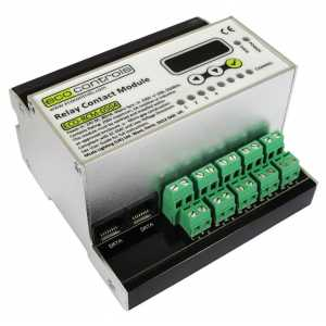 Mode Eco Controls ECO-RCM-0504 Relay Contact Module 4x5A (1 x DPCO and 3 x SPCO Volt Free Relays)