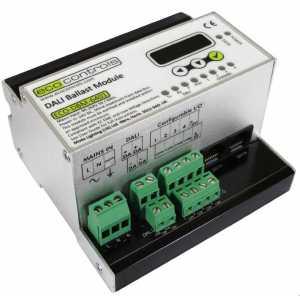 Mode Eco Controls ECO-DBM-6401 DALI Ballast Module (1 x DALI universe c/w DALI Power Supply + 4 x 1-10V or DSI out)