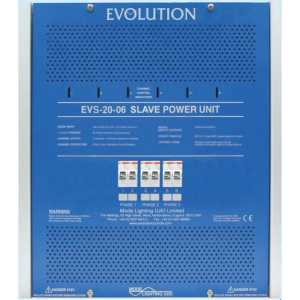 Mode EVS-20-06 Evolution Slave Power Unit (6 Channels of 20 Amps, Inductive 18 Amps)