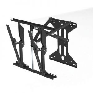 Retractable Universal Cantilever Wall Mount TV Bracket 37 Inch - 85 Inch max weight 75Kg 700mm x 500mm VESA Mount - Black