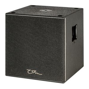 OHM BRS-12i 400W Ultra Compact SubWoofer 12 Inch LVC Driver Refelx Loaded recessed handles 8 ohm