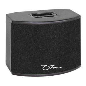 OHM BRW-28A 650W Active Full Range Speaker Cabinet with Dual 8 Inch and 1 Inch Drivers