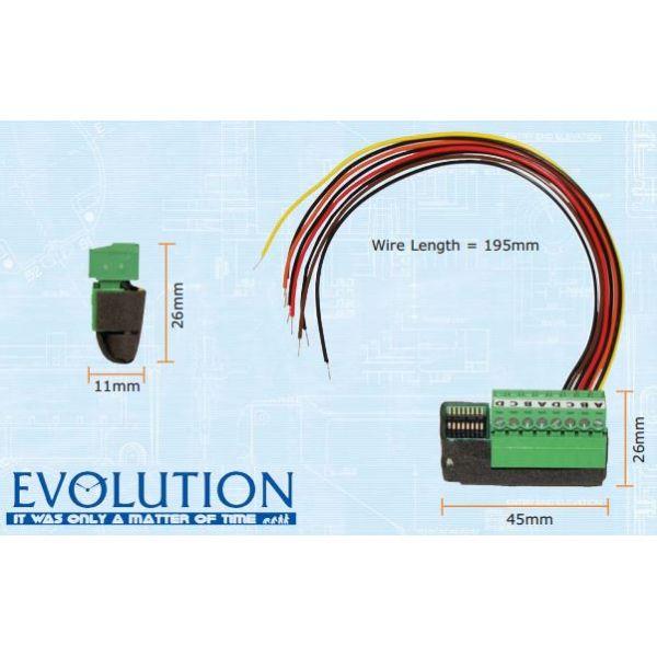 Mode EVO-INT-CI-04 Evolution Input Module (Evolution 4 Way Micro Contact Input Module)