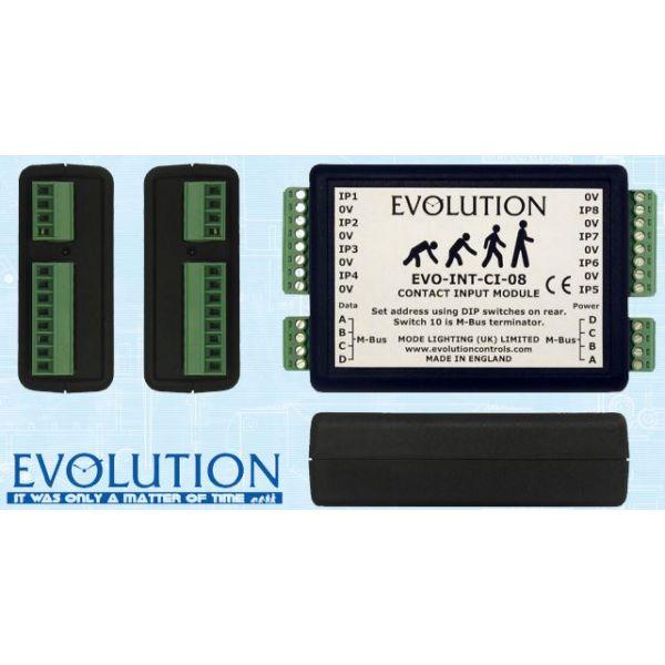 Mode EVO-INT-CI-08 Evolution Input Module (Evolution 8 Way Contact Input Module)