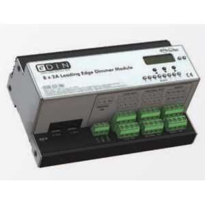 Mode DIN-02-08 eDIN 8x2A Dimmer (8 channels of 2 Amps - Maximum Module Load 10A)