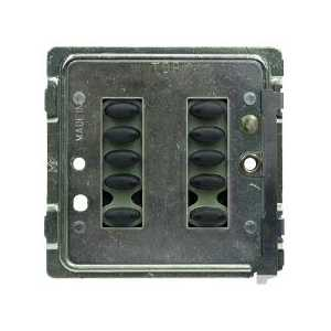 Mode TP-SGP-55-BLK Tiger Switch Plate (10 Black Buttons, Single Gang, Excluding Fascia Plate)
