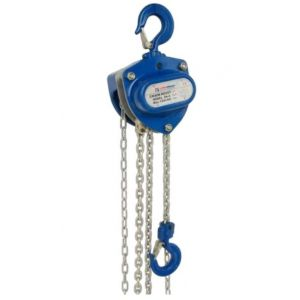 Chain Hoist 1 Tonne 6m with Canvas Chain Bag 2m Circular Round Sling
