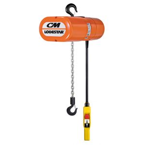 Motorised Chain Hoist 1 Tonne 6m with Canvas Chain Bag 2m Circular Round Sling