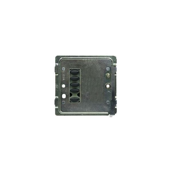 Mode TP-SGP-50-BLK Tiger Switch Plate (5 Black Buttons, Single Gang, Excluding Fascia Plate)