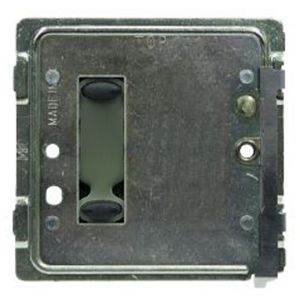 Mode TP-SGP-20-BLK Tiger Switch Plate (2 Black Buttons, Single Gang, Excluding Fascia Plate)