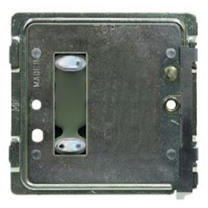 Mode TP-SGP-20-WHT Tiger Switch Plate (2 Black Buttons, Single Gang, Excluding Fascia Plate)