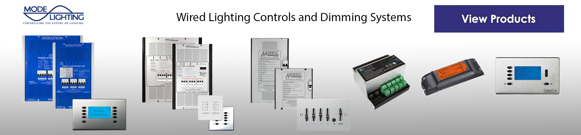 Mode Lighting Wired Lighting Systems